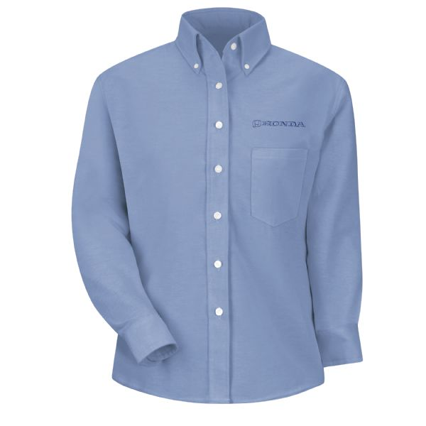 Honda® Women's Long Sleeve Executive Oxford Dress Shirt