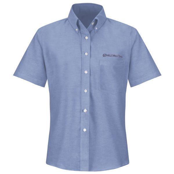 Honda® Women's Short Sleeve Executive Oxford Dress Shirt