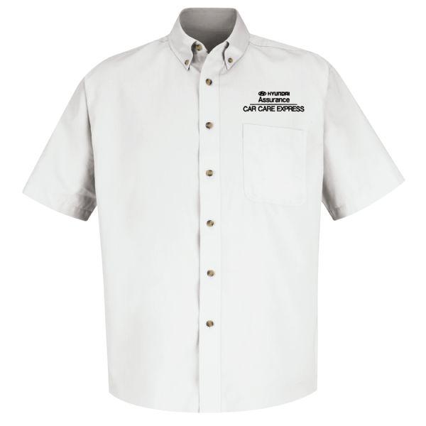 Hyundai® Assurance Car Care Express Men'sShort Sleeve Meridian Performance Twill Shirt