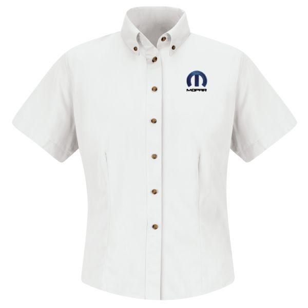 Mopar® Women'sShort Sleeve Meridian Performance Twill Shirt