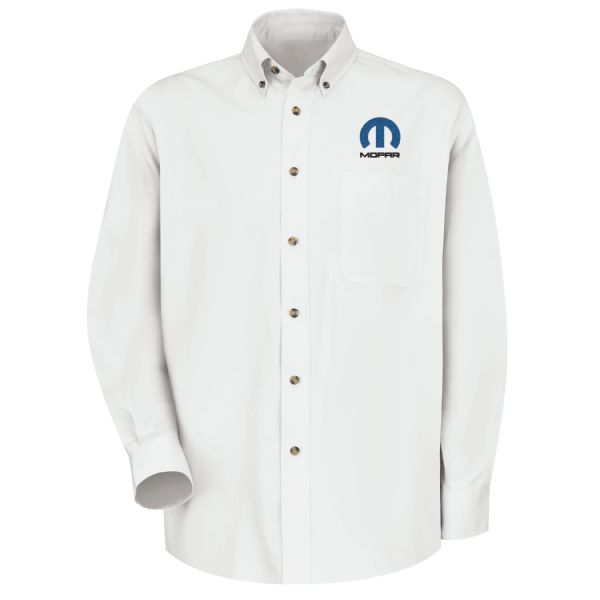 Mopar® Men's Long Sleeve Meridian Performance Twill Shirt