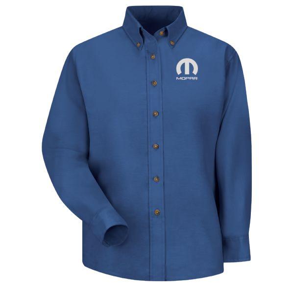 Mopar® Women's Long Sleeve Poplin Dress Shirt