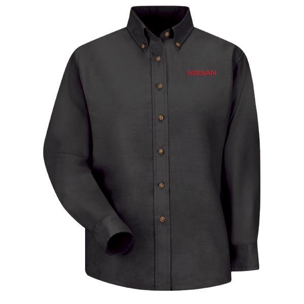 Nissan® Women's Long Sleeve Poplin Dress Shirt