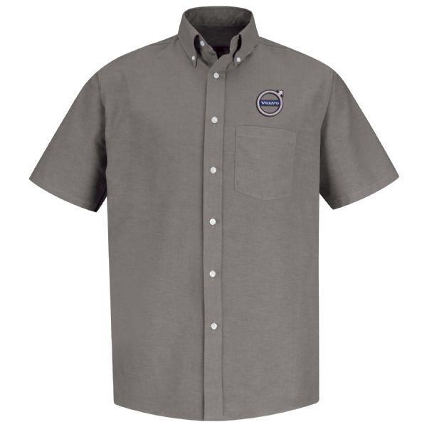 Volvo® Men's Short Sleeve Executive Oxford Dress Shirt