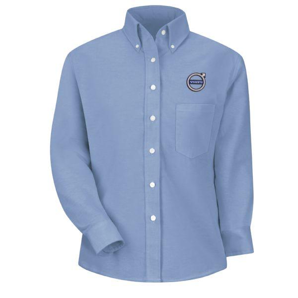 Volvo® Women's Long Sleeve Executive Oxford Dress Shirt