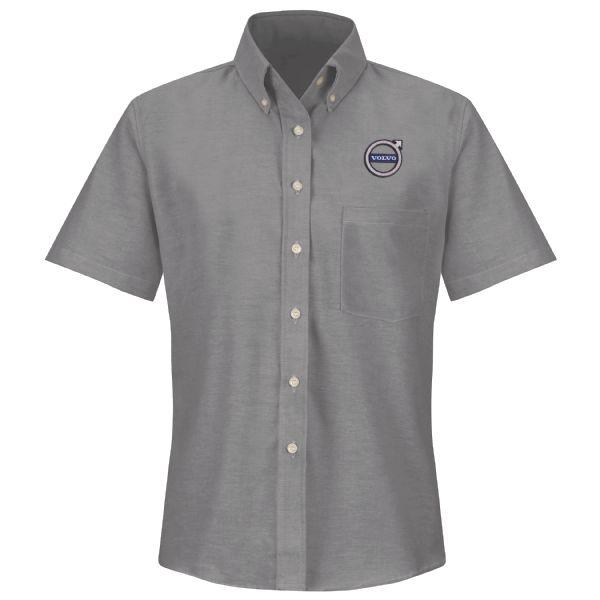 Volvo® Women's Short Sleeve Executive Oxford Dress Shirt