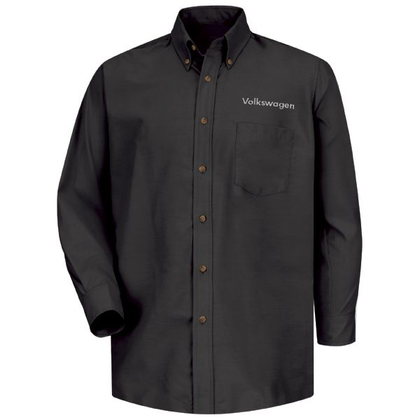 Volkswagen® Men's Long Sleeve Poplin Dress Shirt