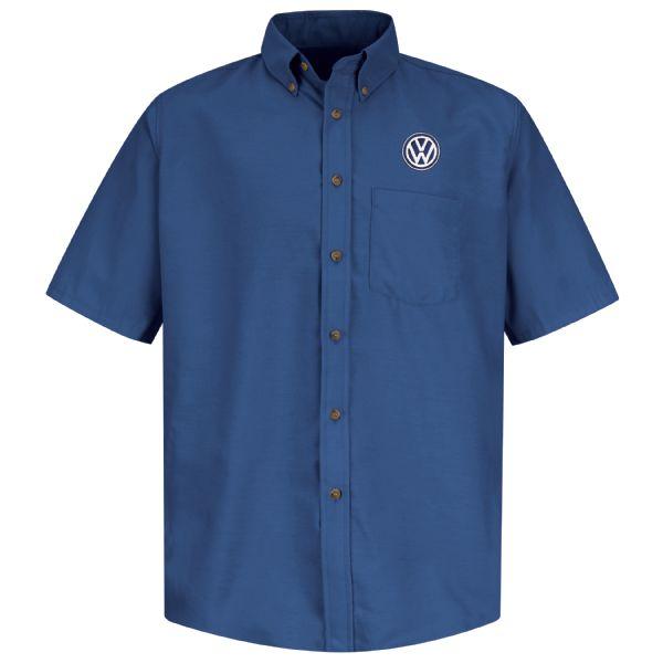 Volkswagen® Men's Short Sleeve Poplin Dress Shirt