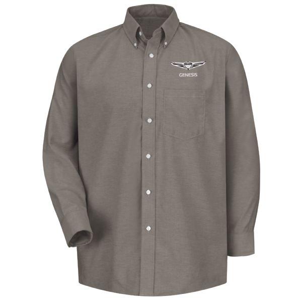 Genesis®Men's Long Sleeve Executive Oxford Dress Shirt