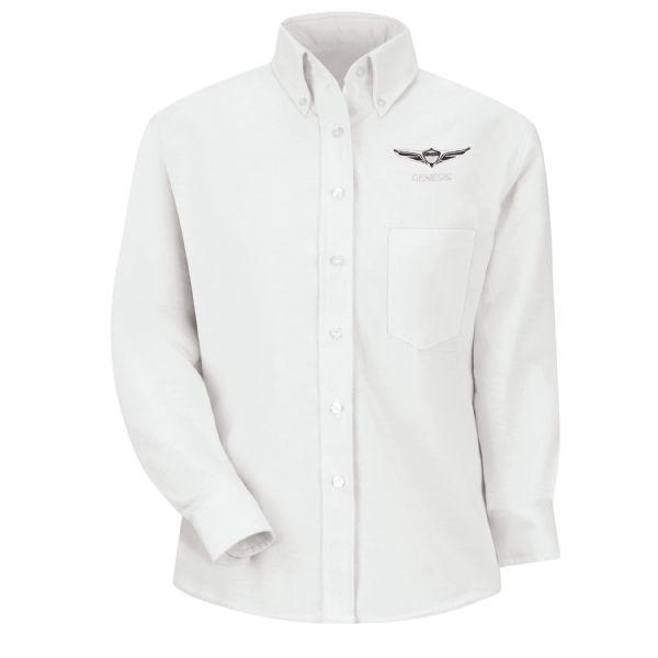 Genesis®Women's Long Sleeve Executive Oxford Dress Shirt