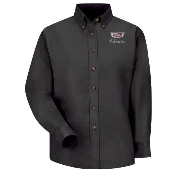 Cadillac Women's Long Sleeve Poplin Dress Shirt