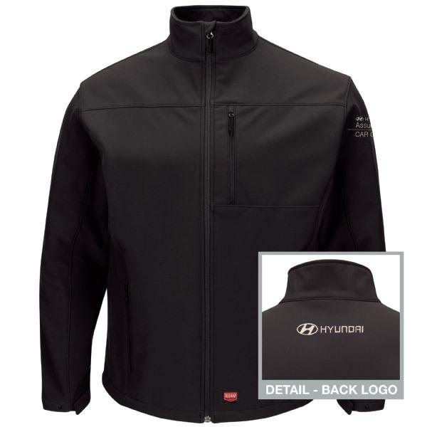 Hyundai® Assurance Car Care Express Men's Deluxe Soft Shell Jacket