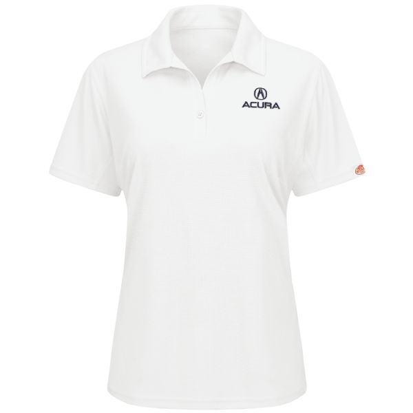 Acura® Women's Short Sleeve Performance Knit® Flex Series Pro Polo
