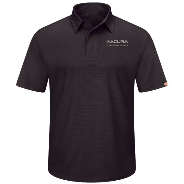 Acura® Accelerated Men's Performance Knit® Flex Series Pro Polo