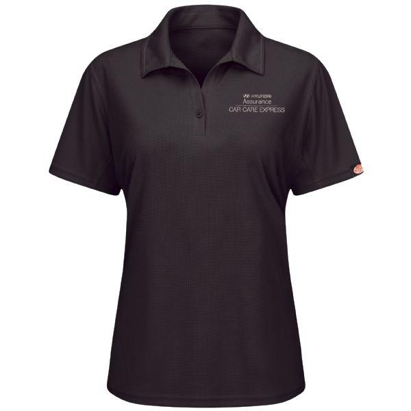 Hyundai® Assurance Car Care Express Women's Short Sleeve Performance Knit® Flex Series Pro Polo
