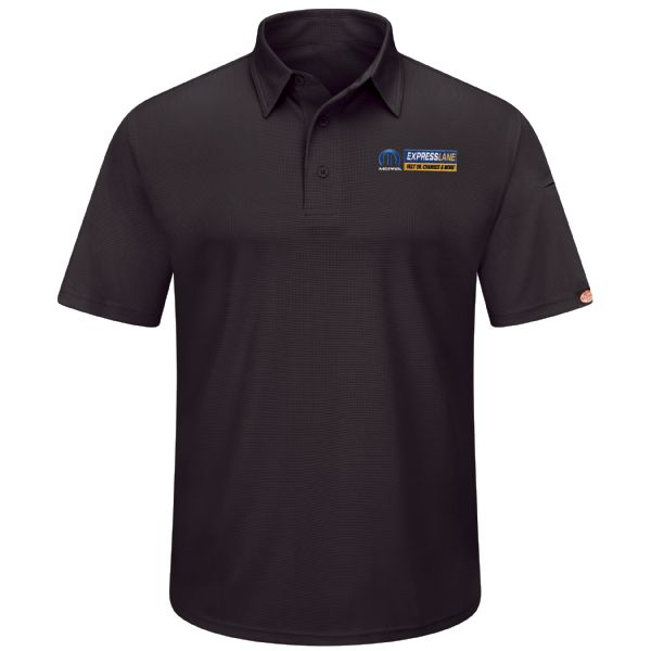 Mopar® Express Lane Men's Short Sleeve Performance Knit® Flex Series Pro Polo