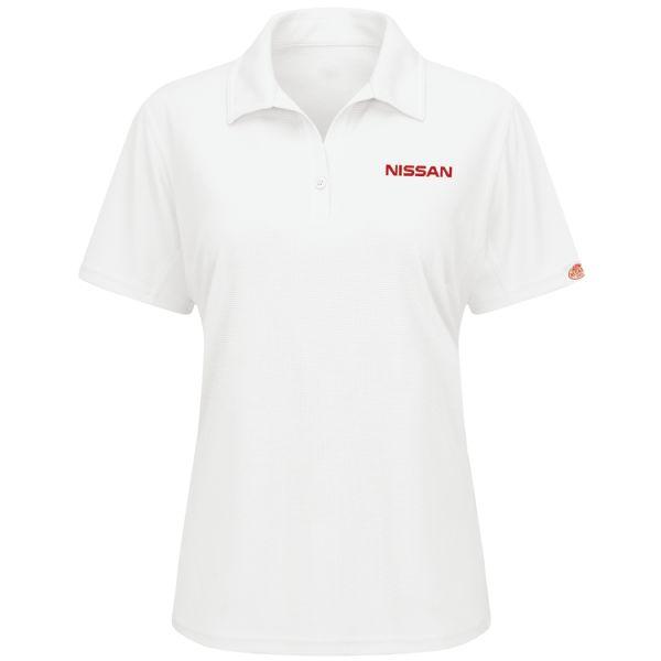 Nissan® Women's Short Sleeve Performance Knit® Flex Series Pro Polo