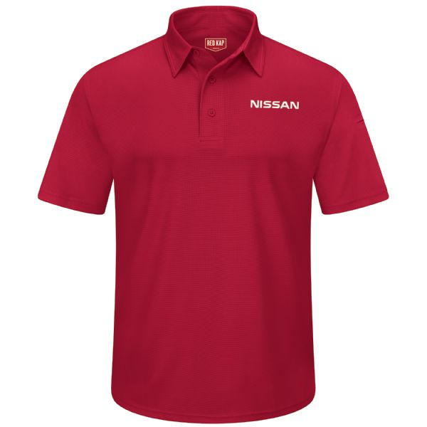 Nissan® Men's Short Sleeve Performance Knit® Flex Series Pro Polo
