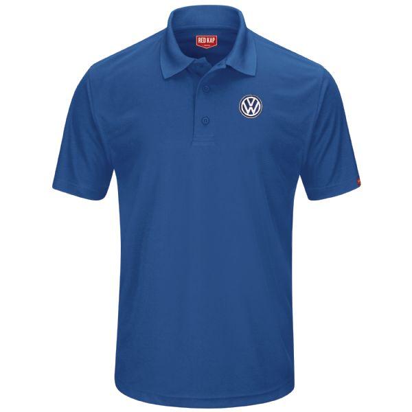 Volkswagen® Men's Short Sleeve Performance Knit® Pocketless Core Polo