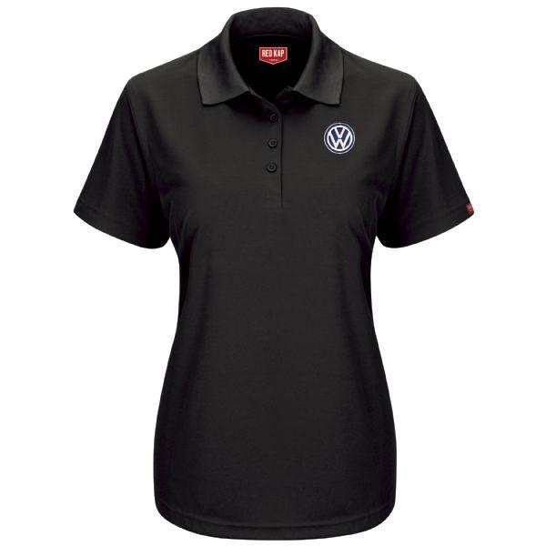 Volkswagen® Women's Short Sleeve Performance Knit® Pocketless Core Polo