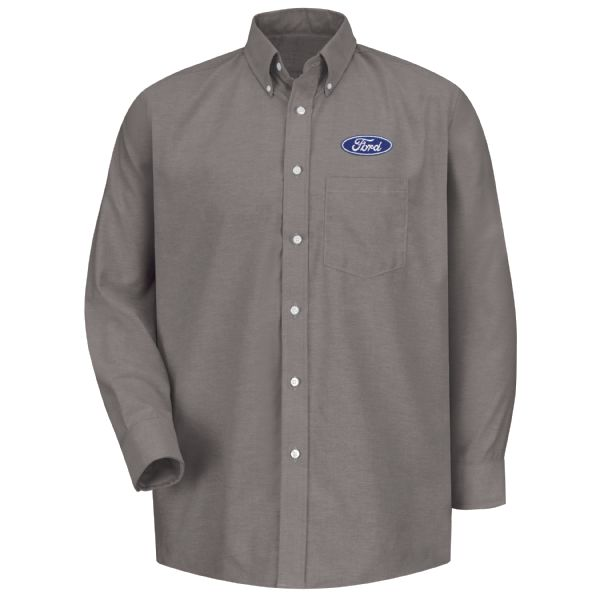 Ford® Men's Long Sleeve Executive Oxford Dress Shirt