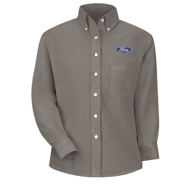 Ford® Women's Long Sleeve Executive Oxford Dress Shirt