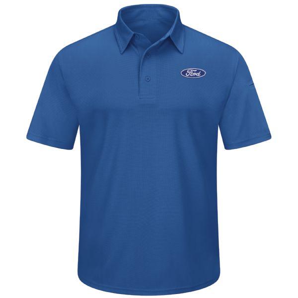 Ford® Men's Performance Knit® Flex Series Pro Polo