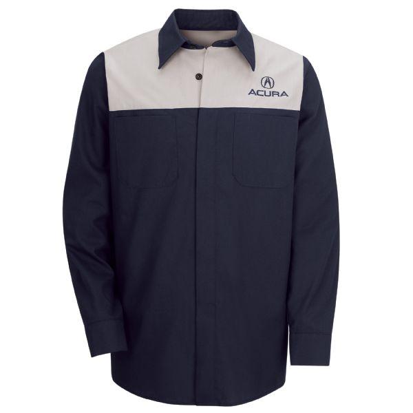 Acura® Long Sleeve Technician Shirt