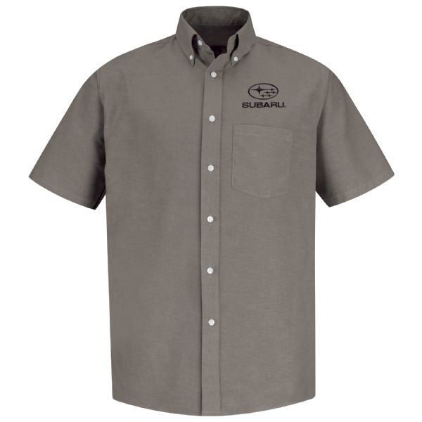 Subaru® Men's Short Sleeve Executive Oxford Dress Shirt