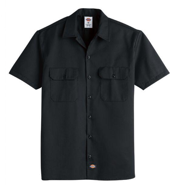 Product Shot - Men's Short-Sleeve Traditional Work Shirt