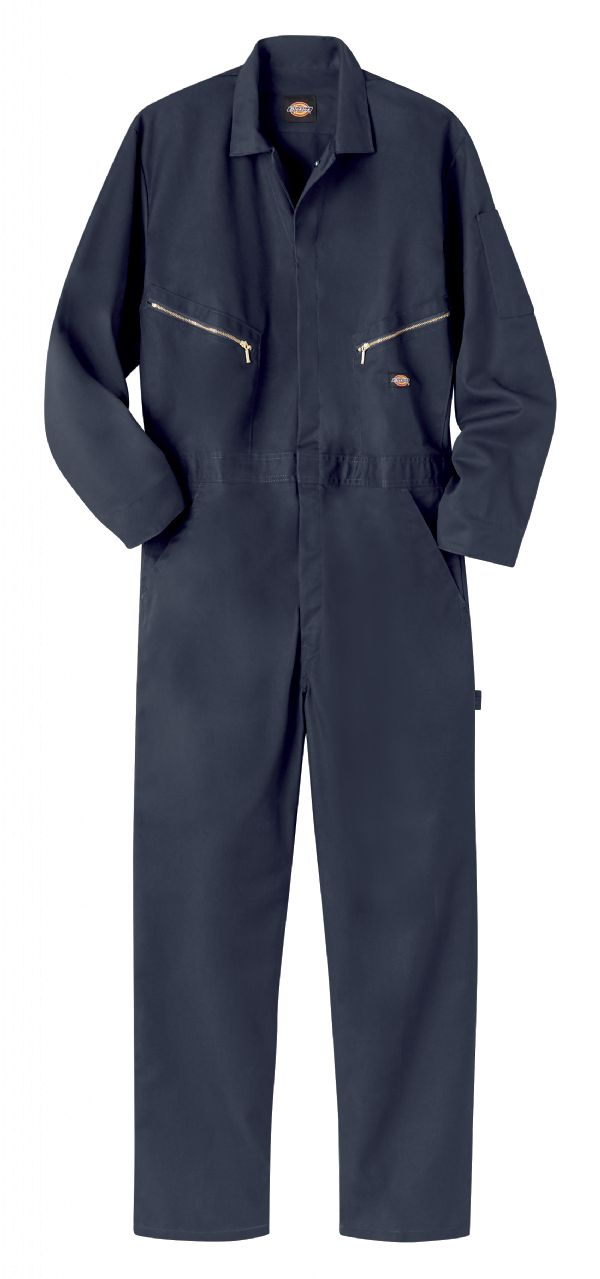 Dark Navy - Deluxe Blended Coverall - Front