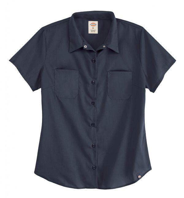 Product Shot - Women's Short-Sleeve Industrial Work Shirt