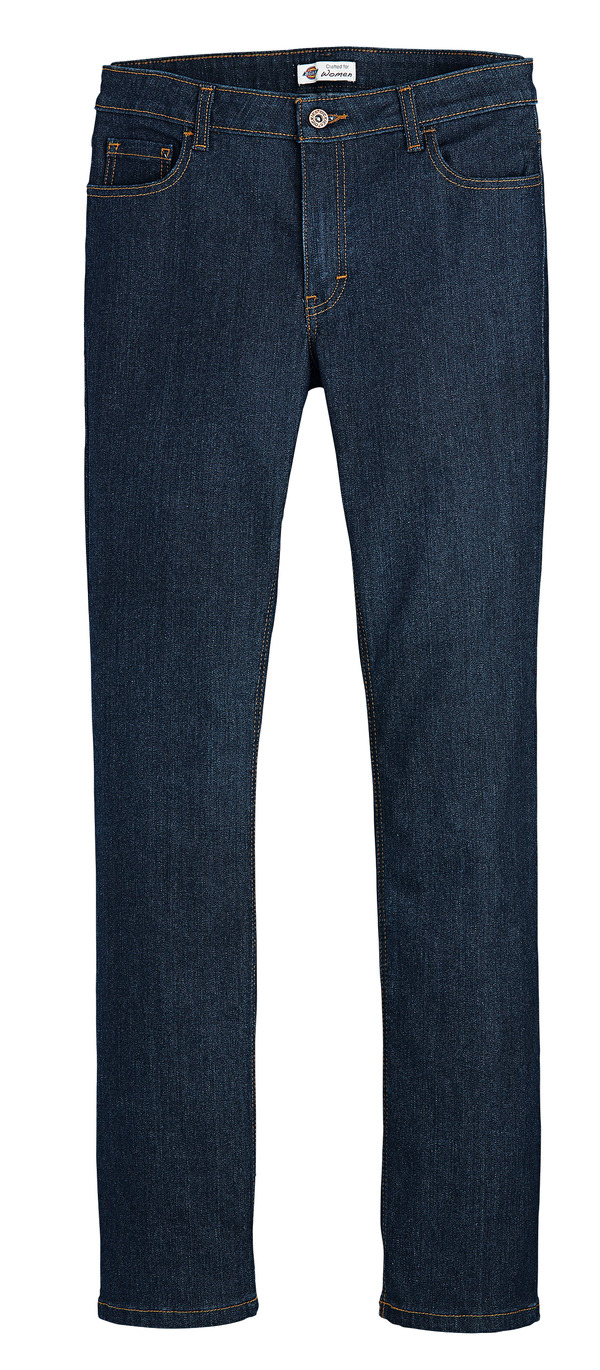 Product Shot - Women's Industrial 5-Pocket Slim Fit Jean