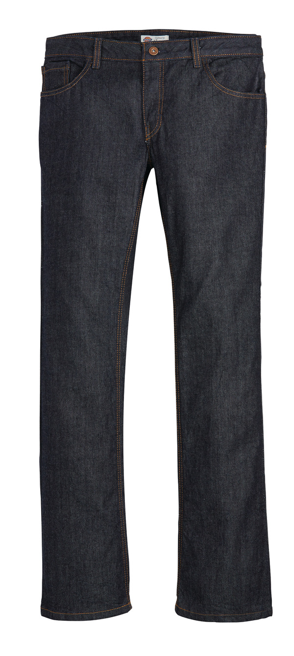 Product Shot - Women's Industrial Denim 5-Pocket Relaxed Fit Jean