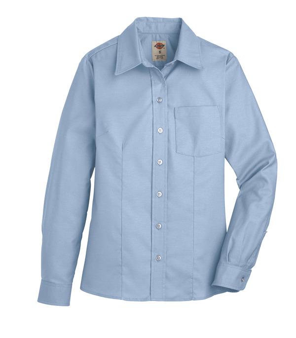 Product Shot - Women's Long-Sleeve Stretch Oxford Shirt