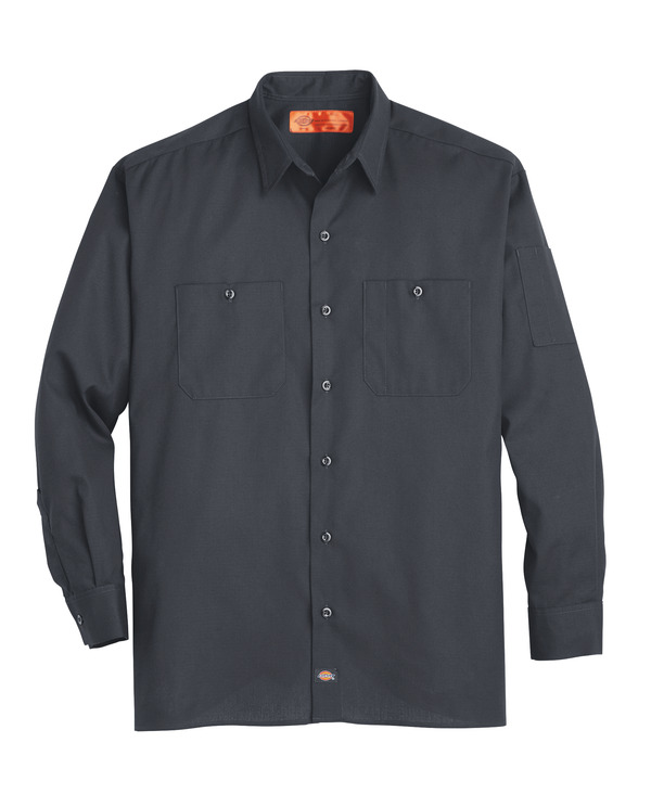 Product Shot - Men's Solid Ripstop Long-Sleeve Shirt
