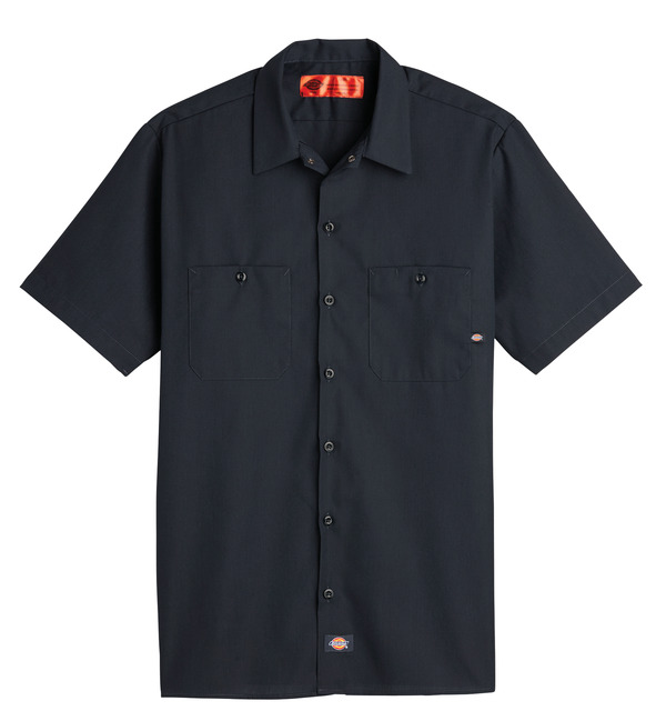 Product Shot - Men's Industrial Short-Sleeve Work Shirt