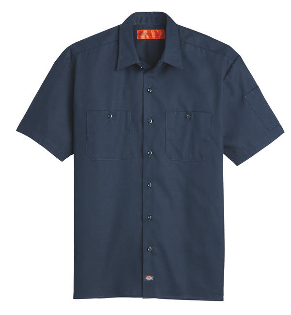 Product Shot - Men's Solid Ripstop Short-Sleeve Shirt