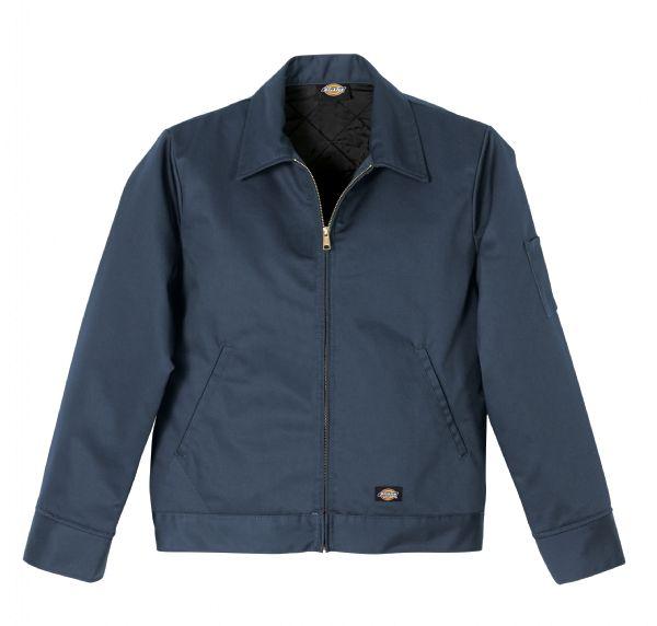 Dark Navy - Men's Insulated Industrial Eisenhower Jacket - Front