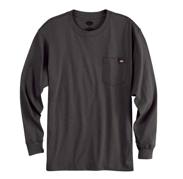 Product Shot - Men's Long-Sleeve Traditional Heavyweight Crew Neck